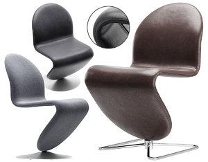 123 dining chair standard 3D model