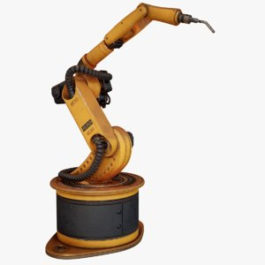 3D ready kuka arc welding model
