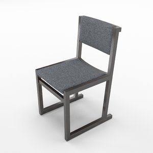 camerich emily chair 3D