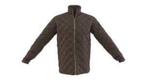 3D model quilted jacket