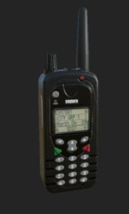 3D sepura radio srh3500