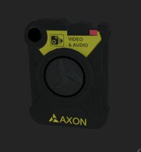 axon body worn camera 3D