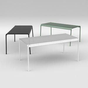 furniture furnishings table 3D model