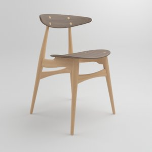 ch33t chair carl hansen 3D model