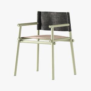 3D emu terramare chair 728