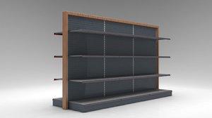 shelves markets model