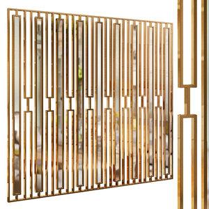 3D decorative partition set 38 model