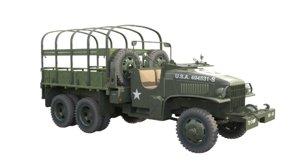 3D gmc 352 truck army