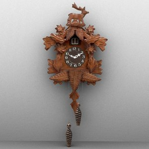 cuckoo clock model