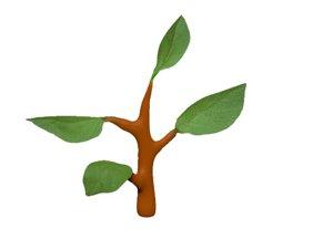 plant work 3D model