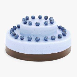 3D model cake pbr
