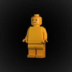 original lego figure arnold model