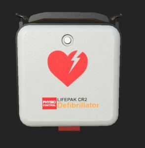 3D lifepak defibrillator