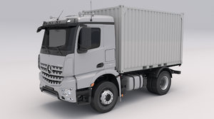 mercedes arocs container 3D model