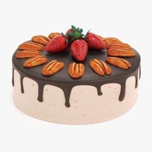 pecan cake model