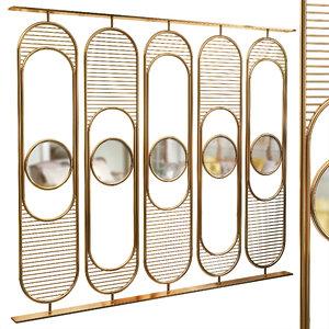 3D decorative partition set 67