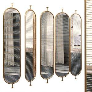 3D decorative partition set 61
