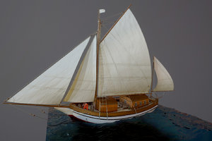 sailing vessel spray - 3D