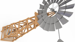 mods cracked wood 3D model