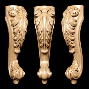 3D decor art sculpture