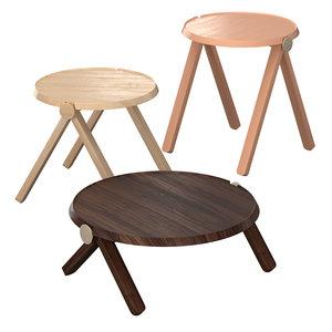 lilliput table 3D model