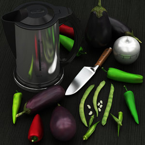 food scane 02 peppers 3D