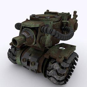 heavy mech tank 3D