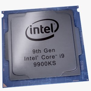 intel core i9 cpu 3D model