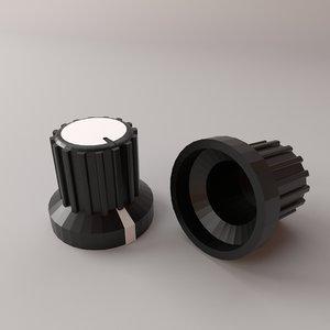 rotary knob 3D model