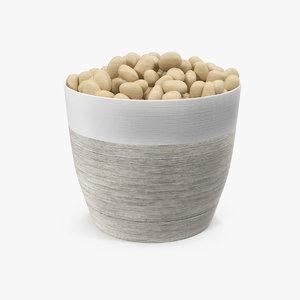 3D pot stones