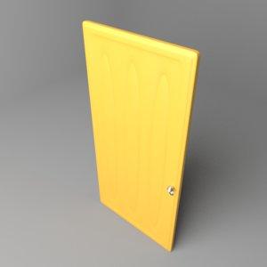 3D model door 3