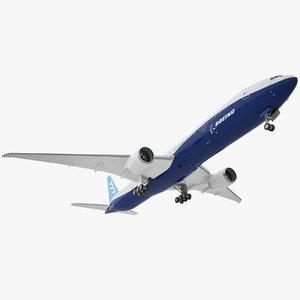 3D boeing 777 er