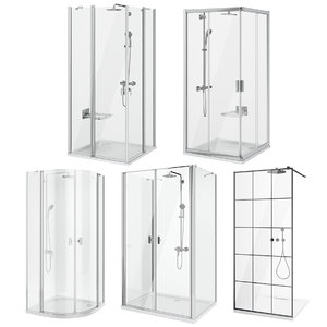 3D ravak radaway shower set