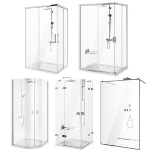 ravak radaway shower set 3D