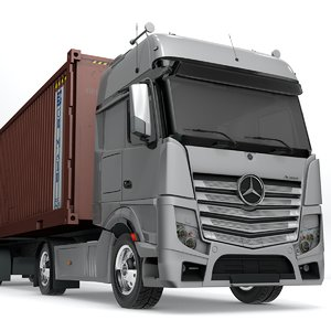 mercedes benz actros grimaldi model