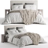 Bed Meridiani Stone Plus (Corona+Vray)