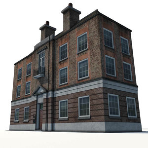 school building 0001 model