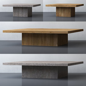 table oak 3D model