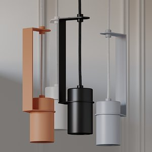 3D ceiling fild 90 pendant lamp