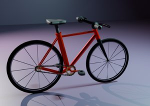 bicycle cycles 3D