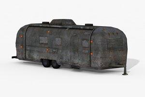 caravan 02 3D model