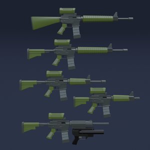 3D automatic weapons: canada model