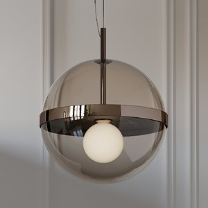 firenze blown glass pendant lamp model