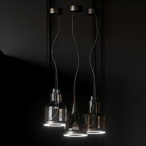 lights vetreria vistosi medea 3D model