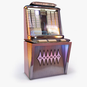 rock-ola regis 120 jukebox 3D model