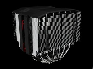 3D model noctua fan heatsink