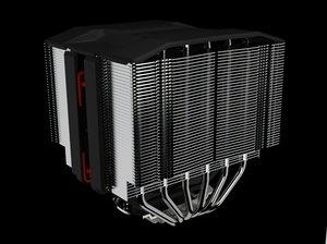 3D model noctua fan heatsink
