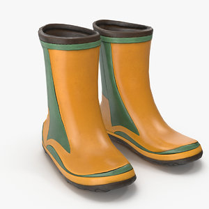 rubber boots pbr model