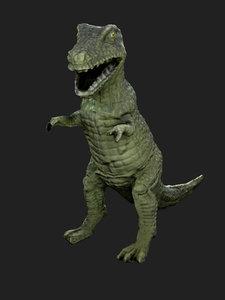 3D dinosaur toy