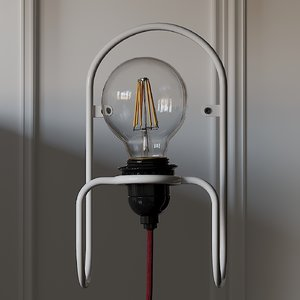 3D sconce anders